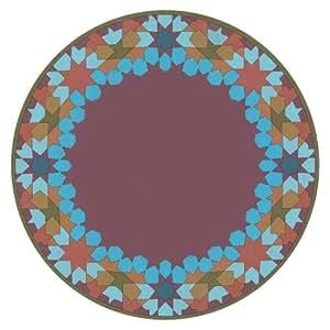 Moucharabieh Blue Dessous d'Assiette Set de 2