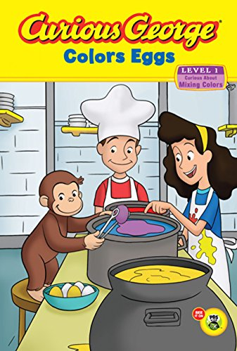 Curious George Colors Eggs