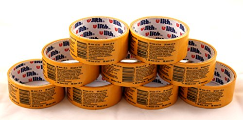 Verlegeband 9 Rollen je 5m -K&B Vertrieb- Teppichklebeband doppelseitiges Klebeband Teppichband