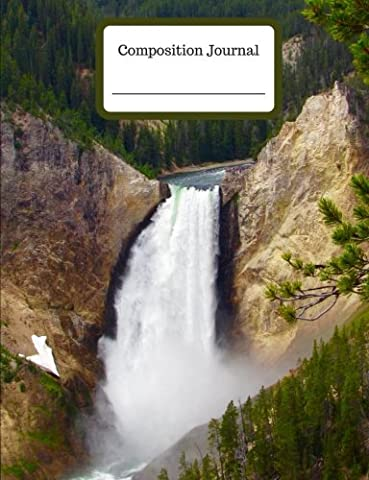 Composition Journal - Yellowstone Falls - College Ruled - 200