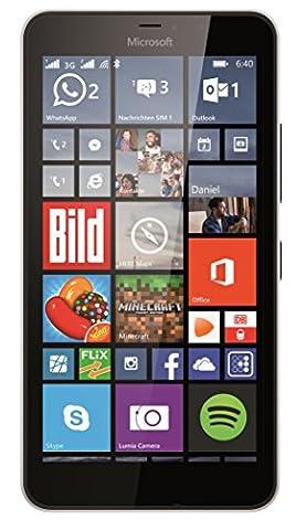 Microsoft Lumia 640 XL Dual-SIM Smartphone (5,7 Zoll (14,5 cm) Touch-Display, 8 GB Speicher, Windows 8.1)