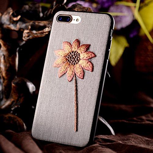 iPhone 6 Custodia iPhone 6S Cover JAWSEU Moda nuovo Arte Ricamo