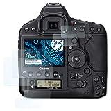 Bruni Schutzfolie für Canon EOS 1D X Mark II Folie - 2er Set glasklare Displayschutzfolie