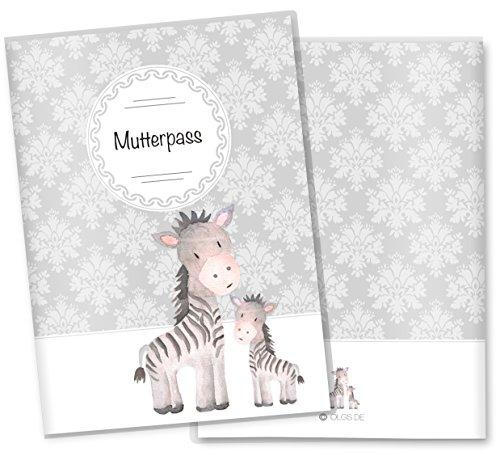 mutterpass hülle zebra