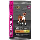 Eukanuba Premium Hundefutter für mittelgroße Hunde, Trockenfutter mit Huhn (1 x 3 kg)