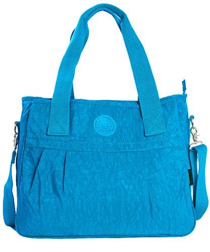 Big Handbag Shop - Sacchetto donna Sky Blue