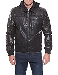 Ritchie - Blouson Cuir Bugsy - Homme