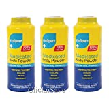 DPNY Pack Of 3 Medipure Medicated Body Powder 100% Talc Free Soothing Treatment