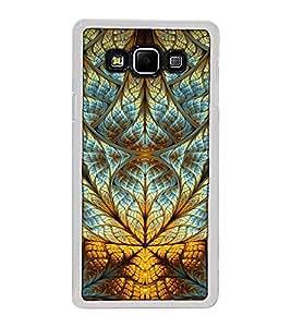 Fuson Designer Back Case Cover for Samsung Galaxy A8 (2015) :: Samsung Galaxy A8 Duos (2015) :: Samsung Galaxy A8 A800F A800Y (lotus sunflower rangoli artwork)