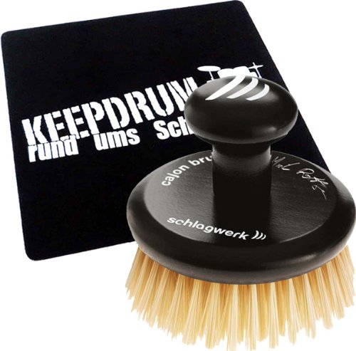 Schlagwerk BRC 04 Cajon Brush + KEEPDRUM Pad Sitzauflage