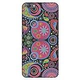 Amzer Slim Fit Handarbeit Designer Printed Hartschale Schutzhülle Back Cover für OPPO F3plus–Jaipur Buti