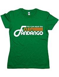 Balcony-Shirts Yes I Can Hear You Clem Fandango' Womens T Shirt