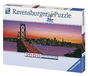 Ravensburger - 15104 - Puzzle panoramique - Pont de Oakland Bay, San Francisco - 1000 pièces