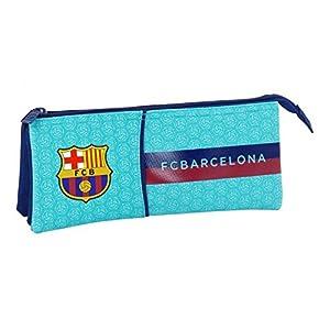Safta Estuche Escolar F.C. Barcelona 2ª Equipacion 17/18 Oficial, 220x30x100mm