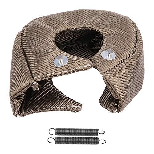 Turbo-Decke, Wärmeisolierung, Turbin-Deckel aus Titanfaser Turbolader Befestigung Molle Heizung Barriera T3 -