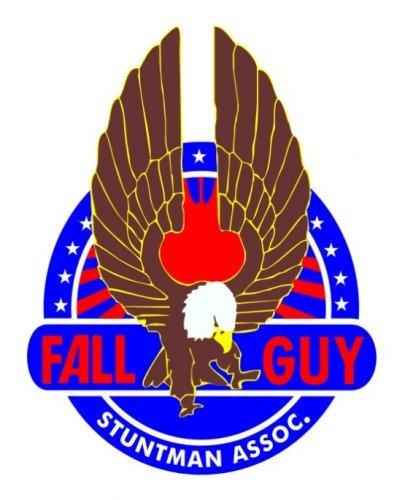 Maglietta da stuntman con scritta FALL GUY nero - nero