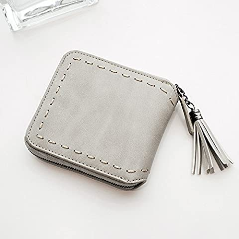 La versión coreana de la simple corto señoras billetera money clip 11*10*2CM.