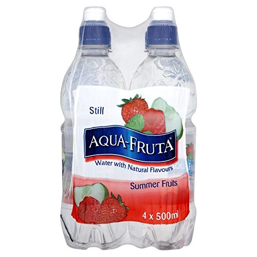 Aqua- Fruta Fruits D'Été Encore De L'Eau Aromatisée (De 4X500Ml)
