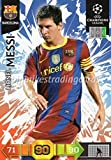 Panini Adrenalyn XL Champions League 2010/11 Lionel Messi Base Trading Card - FC Barcelona