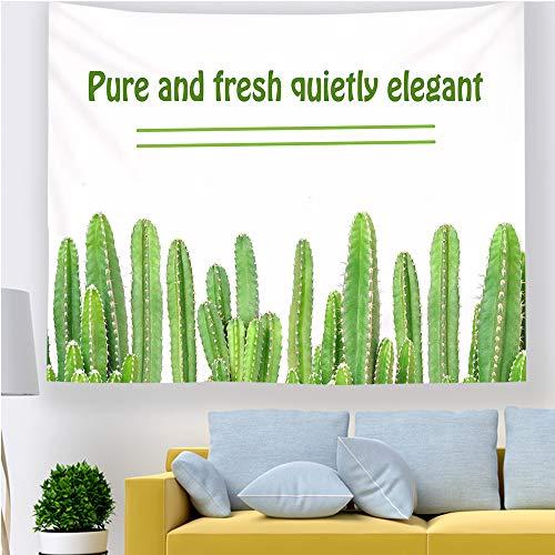 Zrscl piccola e fresca pianta tropicale arazzo casa fenicottero nastro adesivo sfondo muro appeso pittura g 150 * 130 cm