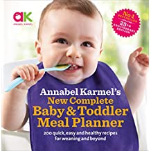 ‏‪Annabel Karmel's New Complete Baby & Toddler Meal Planner - 4th Edition‬‏