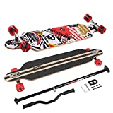 MARONAD Longboard Drop Through Race Cruiser ABEC-11 SAT und der MARONAD STICK