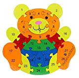 Best GENERIC Toys For 5 Yr Old Girls - PERPETUAL BLISS™ TEDDY BEAR SHAPE WOODEN PUZZLE GAME Review
