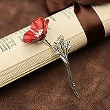 Best Amigos Trajes - kercisbeauty Inglaterra Reina de Inglaterra Amapola flores broche Review