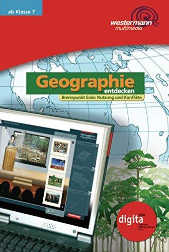 Diercke Weltatlas - Ausgabe 2008 / Software: Diercke Weltatlas - Ausgabe 2008: Geographie entdecken: CD 1: Brennpunkt Erde - Nutzung und Konflikte Einzelplatzlizenz