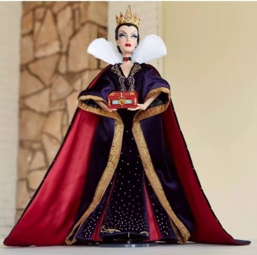 Disney Art of Snow White 80th Anniversary Collection - 17 inch Evil Queen Doll Limited Edition of 4000 / Jubiläums-Kollektion Böse Königin Puppen Limitierte Auflage