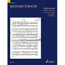 Intermezzo F-Dur: für Klavier zu vier Händen. TrV 138. Klavier 4-händig.