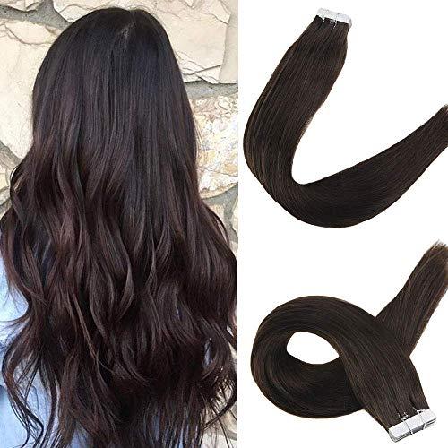 Easyouth Menschliches Haar Tape Erweiterungen 20