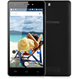 "Doogee X5 - Smartphone libre Android (pantalla 5"", cámara 5 Mp, 8 GB, Quad-Core 1.3 GHz, 1 GB RAM), color negro"