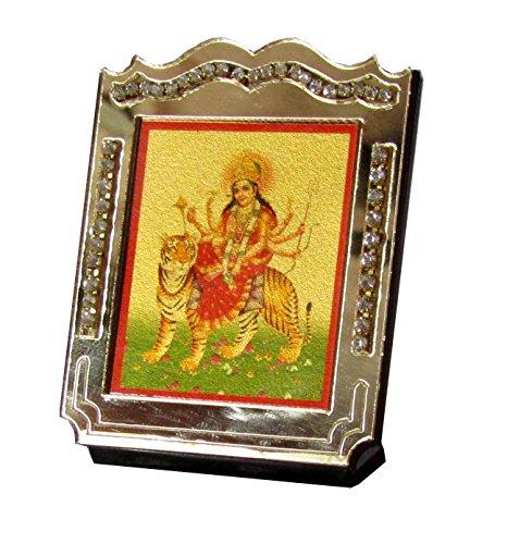 31 Off On Durga Mata Temple For Car Dashboard Golden Color Photo