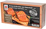 "Masterpiece ""light SIX"" - Aroma Grillbretter aus Zedernholz, 12 mm stark, Grillplanke Premium Qualität, Set á 6 Stk, Maße: 145 x 295 mm, BBQ Räucherbretter im günstigen 6ér Pack"