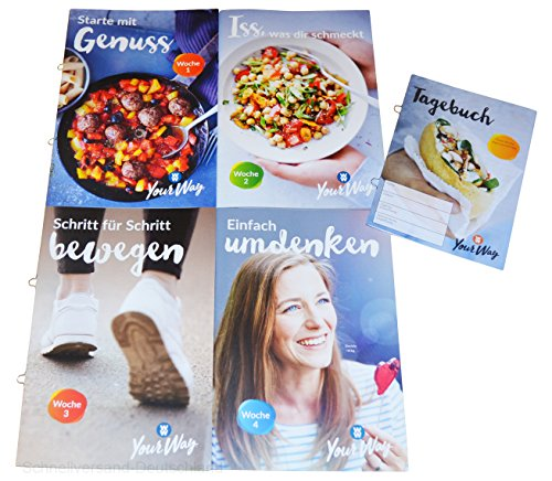 Charmate® Beauty Set //Gesichtspflege// Weight Watchers Die ersten 4 Wochen im SET (Woche 1 - 4) + Planer - Your Way PROGRAMM Zero SmartPoints® Plan / 2018 (Punkte Rechner Weight Watcher)