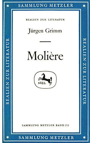 Molière: Sammlung Metzler, 212