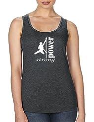Pole Dance TankTop Fitness Shirt für Damen mit Racerback für PoleDance, Fitness Studio, Box, Gym und dein Workout