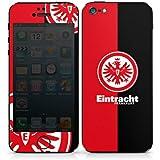 Apple iPhone 5 Case Skin Sticker aus Vinyl-Folie Aufkleber Eintracht Frankfurt Fanartikel SGE Bundesliga