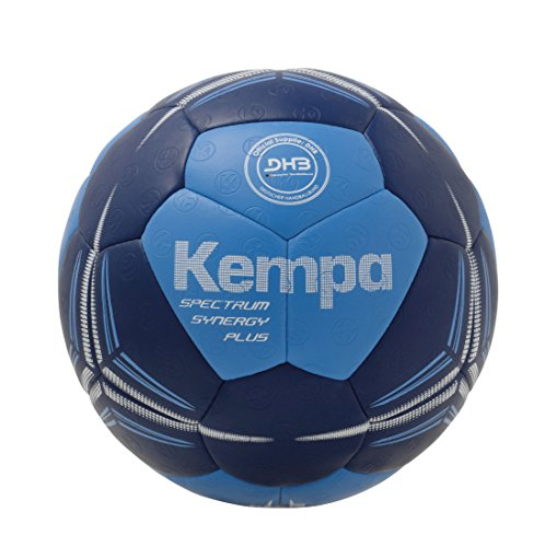 Kempa Spectrum Synergy Plus Ball Handball, Energy deep blau, 2