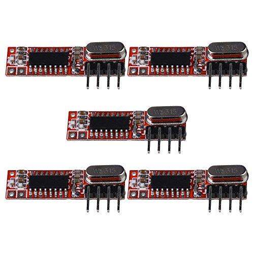 bqlzr DC3–5,5V HIGH Frequenz 433Mhz rxb12RF Wireless Empfänger Modul 5Stück