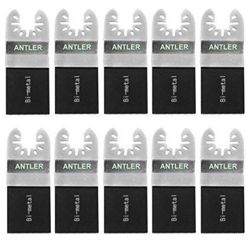 10 x Antler 35mm Bi Metallklingen Dewalt Stanley Worx F30 Erbauer Black & Decker Pendel Multifunktionswerkzeug QAB35BM