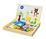 #8: Magnetic Puzzle Drawing Board (Black/White Board) (Magnetic Puzzle Drawing Board)