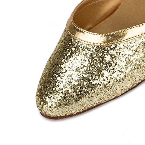 Miyoopark , Salle de bal femme Gold-8cm Heel