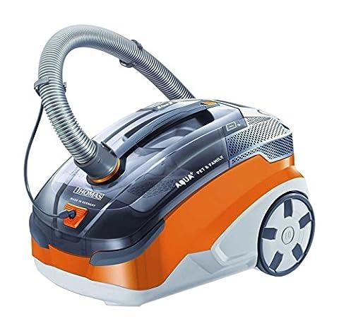 Thomas 788568 Aspirateur filtre à eau Orange/Gris 1,8 L 1600 W