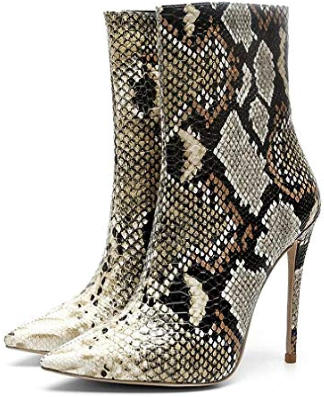 Hy Chaussures habillées habillées habillées pour Femmes, Bottillons à Talons Aiguilles en Microfibre pour Femmes, Automne/Hiver (Couleur...B07KCP2R6HParent cc1e1f