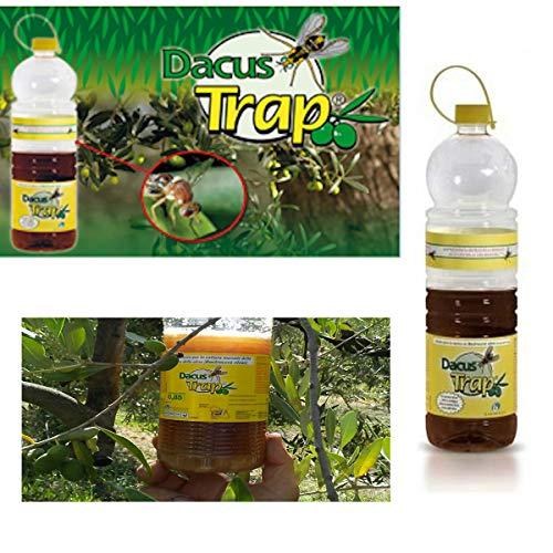 BIOIBERICA DACUS Trap Trappola Mosca dell\'olivo con Liquido attrattivo Naturale per la Bactrocera oleae - 12 Bottiglie