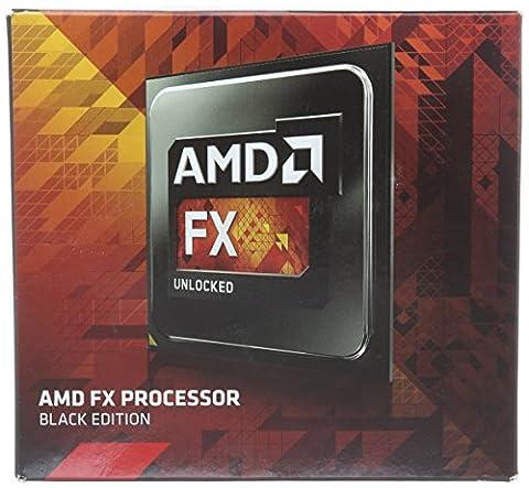 AMD FX-9370 Black Edition Octa Core (Retail, Socket AM3 +, 4.70GHz, 8 Mo, 220W)