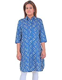 Lili Printed Women's Tunic Design High Low Kurta's (S, M, L, XL, XXL)