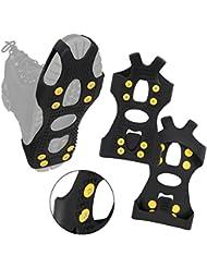ALPIDEX Anti Rutsch Schuh Spikes Ice Grips in Verschiedenen Größen